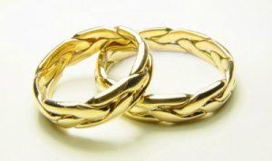 современные свадебные кольца