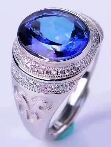 кольцо топаз фото