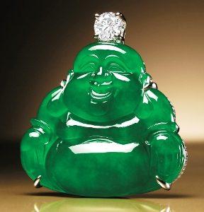 жадеитовый будда