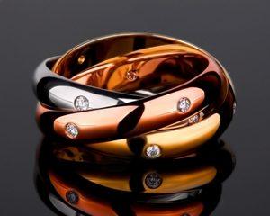 cartier trinity кольцо фото