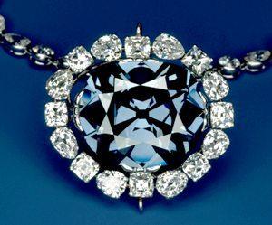 алмаз голубой француз