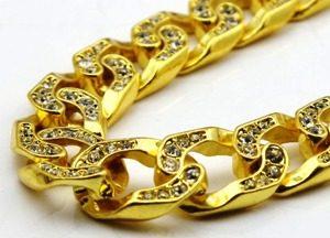 цепочка с бриллиантами