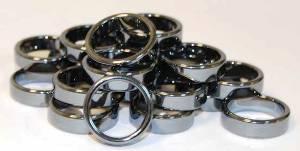 кольца с гематитом
