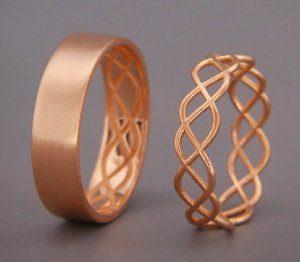 оригинальные обручальные кольца фото