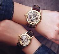 мужские и женские скелетоны часы