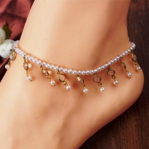 индийский браслет на ногу