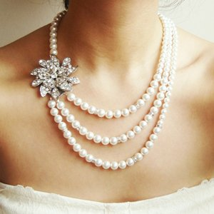 ожерелье на свадьбу