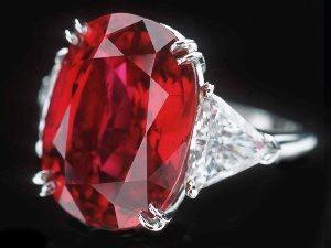 рубин украшение