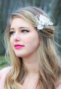украшения для волос цветок