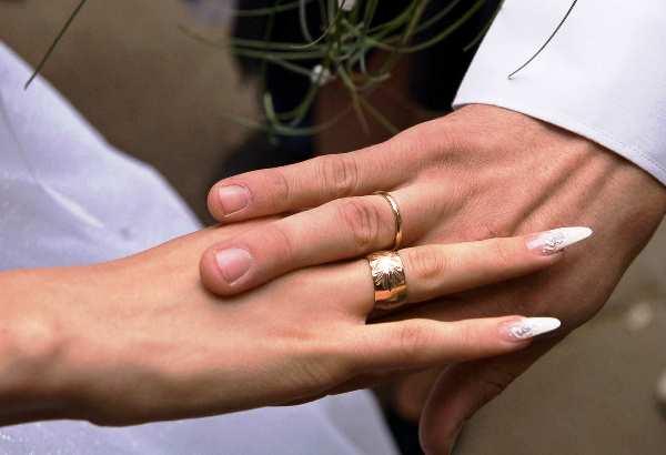 обручальное кольцо для чего можно снять